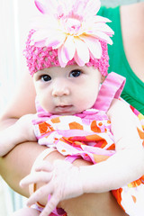 Adorable Baby Making Funny Face