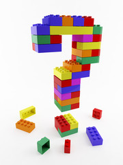 question structure lego