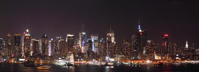 New York - Night skyline