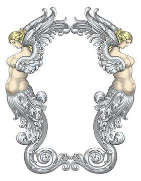 Fairy Mermaids vector
