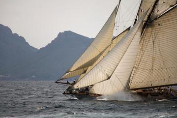 Spoed Foto op Canvas Zeilen Old sailing boat