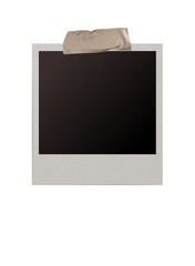 polaroid with tape