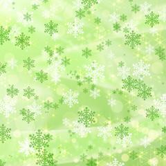 雪の結晶のイルミネーション