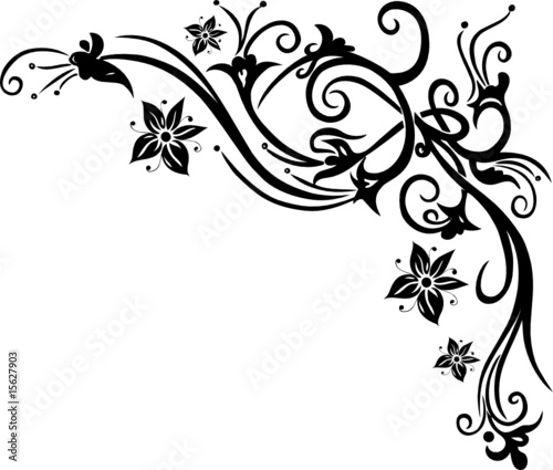 """""""blumen ornament floral blüten"""" stockfotos und"""