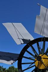 Antico mulino a vento industriale - Ancient industrial mill