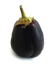 eggplant / aubergine isolated