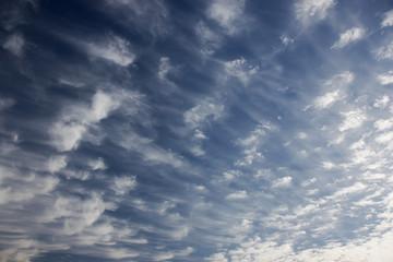 Nuvole, cielo, blu