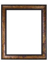 Retro wooden photo frame