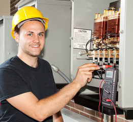 Training to be Electrician