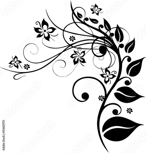 """""""blumen pflanze ranke blätter laub filigran"""