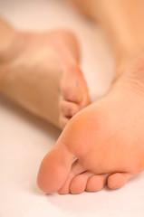 Woman feet