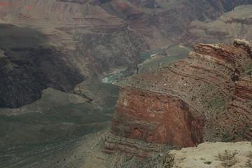 Grand canyon floor