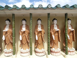 Buddha images at Chinese temple