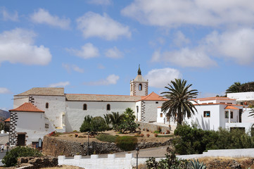 Historical town Betancuria Canary Island Fuerteventura Spain