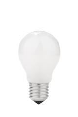 Light bulb isolated on white