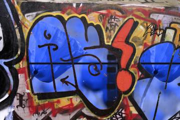 Graffitis poppies