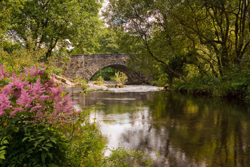 Skelwith Bridge in the English Lake District