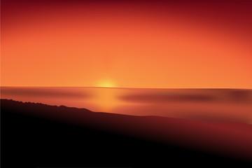 sunset mesh