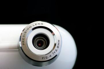 eye of the webcam