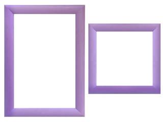 Set of wood frames