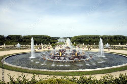 Bassin fontaine et jardin de versailles photo libre de for Versailles jardin gratuit