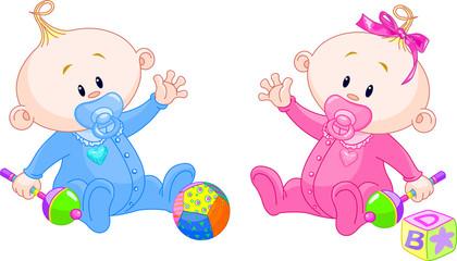 Sweet twins