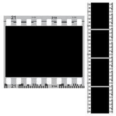 Black white film 35 mm.