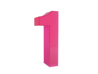 pink number one