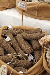 Saucissons au poivre (marché provençal)