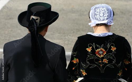 chapeau et coiffe de costume traditionnel breton et bretonne photo libre de droits sur la. Black Bedroom Furniture Sets. Home Design Ideas