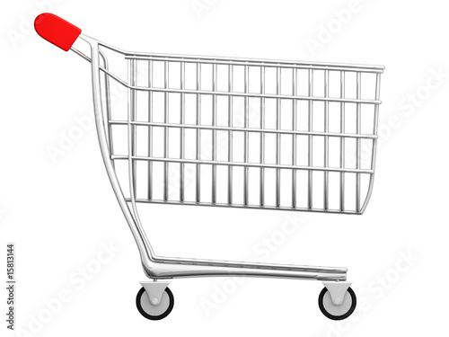 chariot de supermarch 2 photo libre de droits sur la banque d 39 images image 15813144. Black Bedroom Furniture Sets. Home Design Ideas