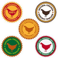 chicken natural button