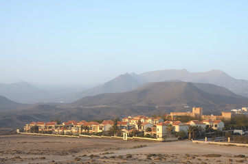 Village La Pared. Canary Island Fuerteventura, Spain