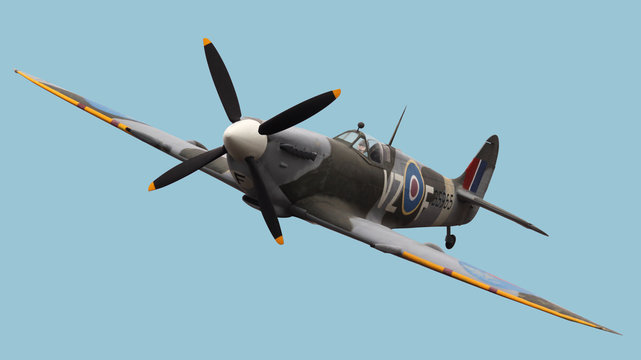 Isolated Spitfire