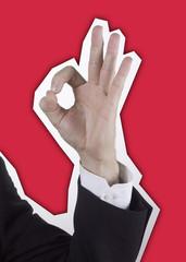 main signe impeccable