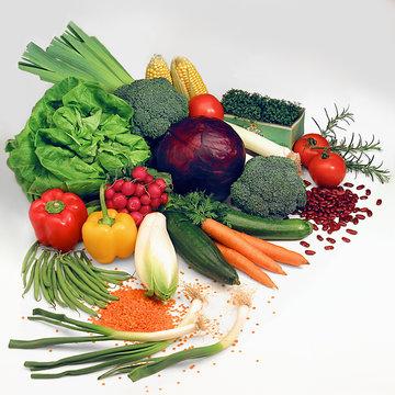 Salat + Gemüse