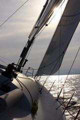 Sundown sailing