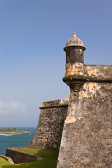 Fort Morro in Old San Juan, Puerto Rico