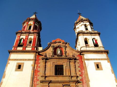 Temple of the Congregation in Queretaro, Mexico.