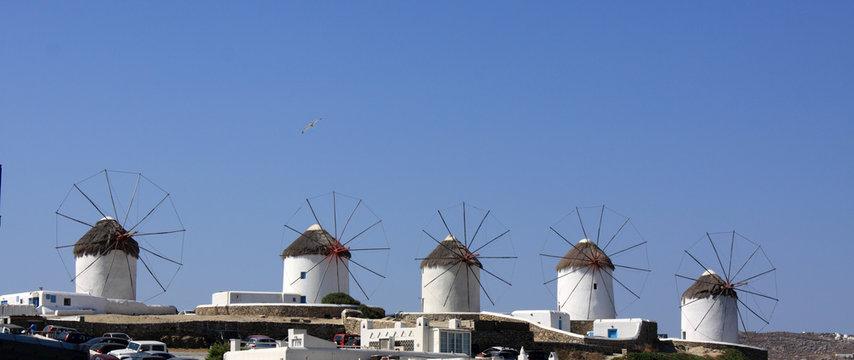 Mykonos Windmills Row