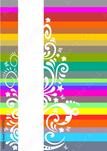 farben muster mit ornamenten stockfotos und lizenzfreie vektoren auf bild 15887108. Black Bedroom Furniture Sets. Home Design Ideas
