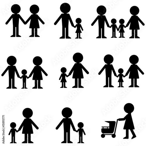 family icon stockfotos und lizenzfreie vektoren auf bild 15893771. Black Bedroom Furniture Sets. Home Design Ideas