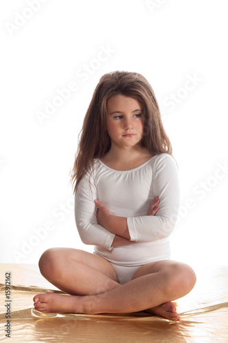Little girl with a ballet costume on sitting stock photo and royalty free images on fotolia - Pics of small little girls ...