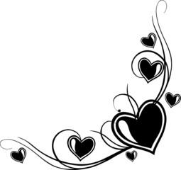 Herz Tattoo, Liebe, love, Umrandung