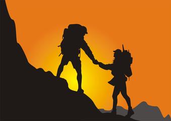 登山运动者