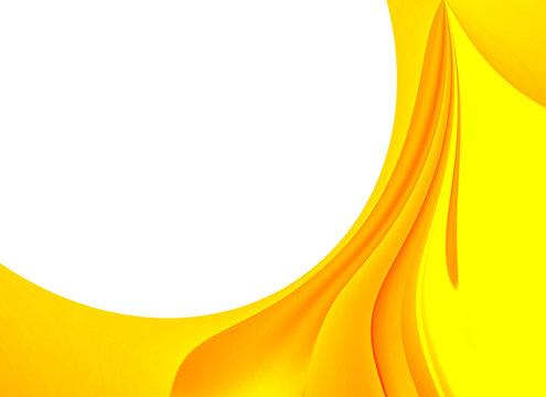 enmarcado circulo amarillo