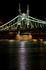Wall Mural - Liberty bridge, Budapest, Hungary