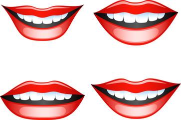 Lips set