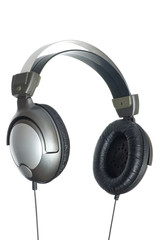 Headphones. Isolated on white with clipping path.