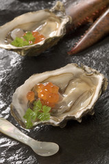 Lobster and Oysters